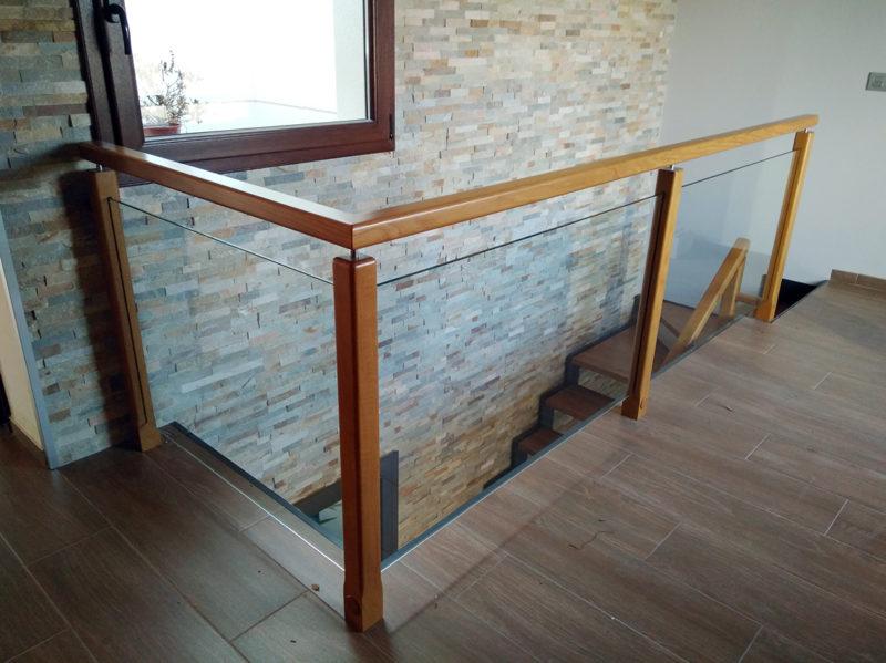 barana combinada de vidre