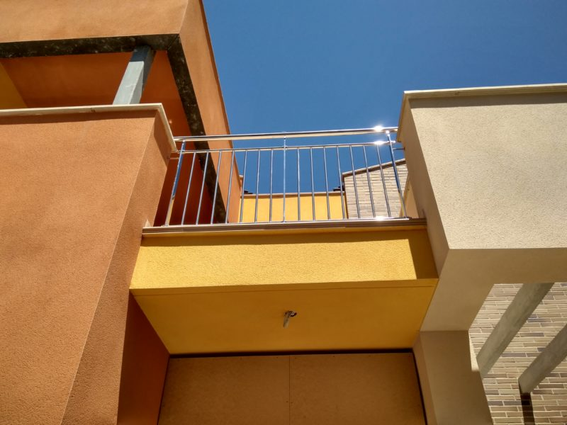 barana inox vertical